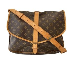 Louis Vuitton Monogram Saumur 35 Messenger